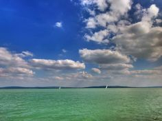 Balaton tavasszal Foto: Janka Judit Childhood Memories, Sailing, Boat, Clouds, Lady, Nature, Outdoor, Candle, Outdoors