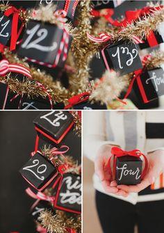Christmas advent calendar ideas 32