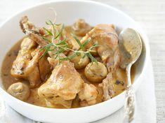 Découvrez la recette Lapin à la moutarde sans vin blanc sur cuisineactuelle.fr.