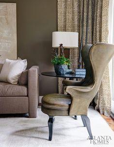 Design by Robert Brown, Robert Brown Interior Design | Photography by David Christensen | 2013 Cashiers Designer Showhouse | Atlanta Homes & Lifestyles |