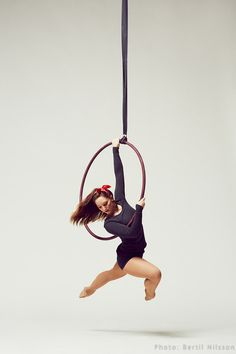 It's not dance but I so enjoy doing hoop and silks