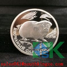 2016#Aliexpress #metalcraft #coin #valentinesday#gift#replica#collectible#animal#russia