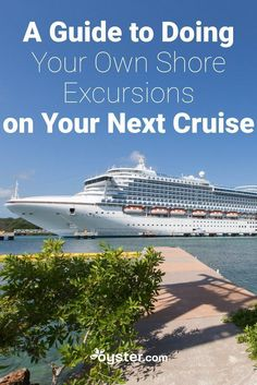 While cruise lines offer lots of shore excursions to choose from, you may opt to plan a tour independently, due to flexibility or price concerns. Here's our guide to doing your own cruise excursions. Packing For A Cruise, Cruise Tips, Cruise Travel, Cruise Vacation, Best Cruise Ships, Disney Cruise Ships, Ocean Cruise, Cruise Port, Cruise Excursions