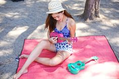 Camille Co, Outdoor Fitness, Girls Camp, Outdoor Workouts, Beach Fashion, Sweet Style, Roxy, Beach Mat, Outdoor Blanket