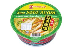 Myojo Bowl Mee Soto Ayam in Singapore