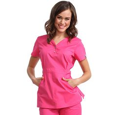 The koi Justine Top is one of our best sellers! Because it is a longer length top with makes any woman's waist look amazing. The koi Justine top is used by women looking for nursery uniforms, childcare uniforms, dental uniforms or dental scrubs. Spa Uniform, Scrubs Uniform, Healthcare Uniforms, Medical Uniforms, Koi Scrubs, Cute Scrubs, Dental Scrubs, Medical Scrubs, Scrubs Outfit