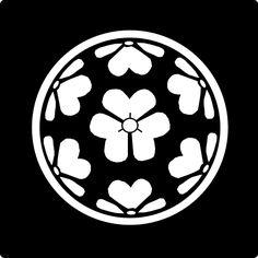 七つ片喰 ななつかたばみ Nanatsu katabami The design of 7 leaves of sorrel.