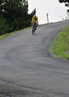 Chris Froome went like a motorbike on the final descent.  Stage 17 TDF.