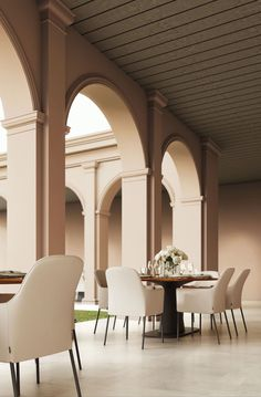Antica Calce - SanMarco Lime Paint, Traditional Paint, Neoclassical Architecture, Dining Chairs, Dining Table, Retail Space, Luxury Decor, Outdoor Rooms, Living Spaces