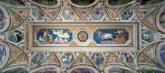 Peruzzi, ceiling for Agostino Chigi, Villa Farnesina, Rome 1516