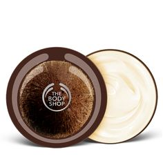 Coconut Body Butter - The Body Shop.  Best stuff in the world, period.