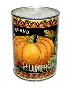 Hard to Find Original 1910 Butterfly Brand Pumpkin Chromo Can Label | eBay