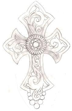 Cross Tattoo 2 by ~Metacharis on deviantART