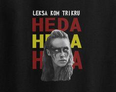 War paint Heda Leksa Kom Trikru the 100 Tee T-Shirt
