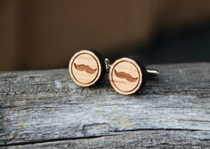 Custom Cufflinks: Anchor, Mustache, Dia de los Muertos by mini-Fab | Hatch.co