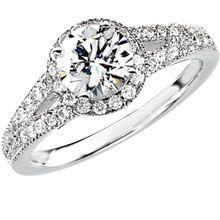 Brilliant Vintage Diamond Engagement Ring