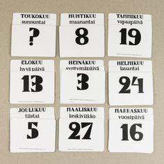 Muumuru kalenterit / calendars: Iki