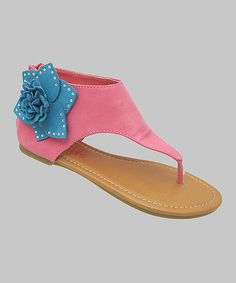 Take a look at this Fuchsia Karylle Sandal on zulily today!
