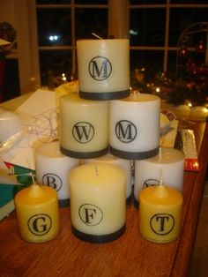 make your own candles!