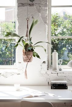 Hanging Planter By H