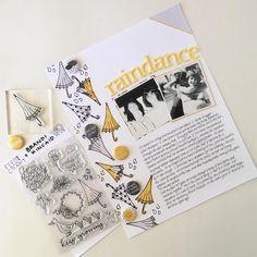 raindance by Susan (FYC Keep Growing stamp set designed by Brandi Kincaid and Sun and Rain mini flair)
