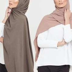 INAYAH | The ideal hijab for those who require perfect coverage all year round. Ash Linen Blend Hijab Bark Linen Blend Hijab www.inayah.co