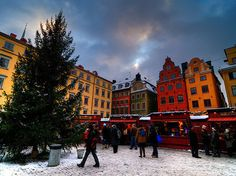 24 Reasons Why Living In Sweden Will Ruin You For Life - Gamla Stan  Julmarknad