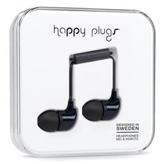 The Happy Plugs In-Ear is the perfect everyday accessory to be mixed and matched with your outfit of the day.