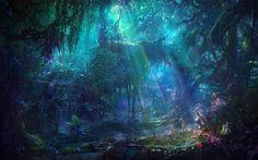 fantasy jungle - Google Search