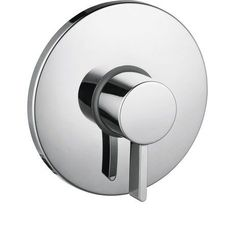 S Pressure Balance Volume Control Faucet Trim with Lever Handle