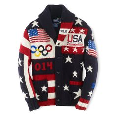 Be the first to own a piece of American history: one hundred percent of the purchase price of the Limited-Edition Team USA Opening Ceremony Cardigan will be donated to the U.S. Olympic Committee, an organization supporting our nation's best and brightest athletes. For more information, please visit Teamusa.org
