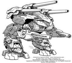 Battletech: Omega by *Mecha-Master on deviantART