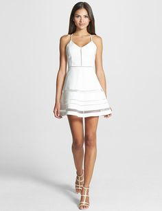 PARKER 'Whitefield' Fit & Flare Dress
