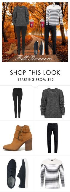 """Fall Romance"" by shineedancer ❤ liked on Polyvore featuring Topshop, Belstaff, Steve Madden, Neuw denim, Uniqlo, Witchery and Barbour"