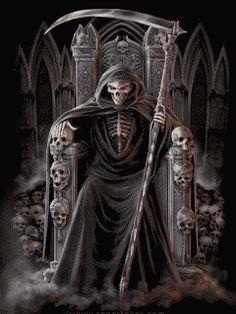 Skeleton-Skull: The Grim - Reaper