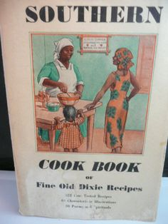 "Vintage Cookbook ""Southern Cook Book of Fine Old Dixie Recipes"" Paperback Used"