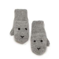Bunny Mittens from Oeuf