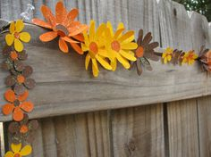 Fall Flowers Autumn Decor Fall Use around your bulletin boards & facitlty Decor by theartofhandmades