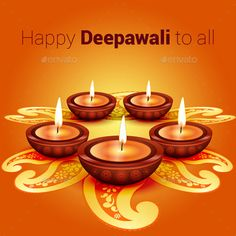 Buy Happy Deepawali Greeting Vector by dealdesign on GraphicRiver. This vector is represent the Indian festival Deppawali, this design can be used for greeting and all type of print wo. Happy Diwali Wallpapers, Happy Diwali Images, Shubh Diwali, Diwali Diya, Diwali Festival Of Lights, Diwali Lights, Diwali Greeting Cards, Diwali Greetings, Dad Birthday Quotes