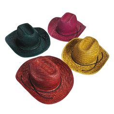 Child's Cowboy Hats - OrientalTrading.com