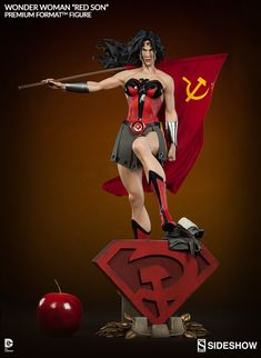 DC Comics Wonder Woman - Red Son Premium Format(TM) Figure b | Sideshow Collectibles