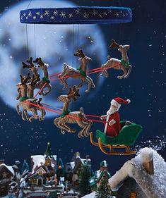 Christmas Eve Mobile by Alan Dart