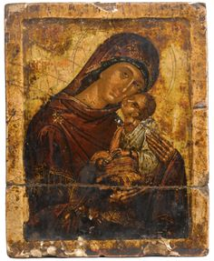 religious ||| sotheby's l11116lot68wdhen Religious Photos, Religious Icons, Religious Art, Byzantine Icons, Byzantine Art, Original Paintings For Sale, Russian Icons, Christian Religions, Catholic Art