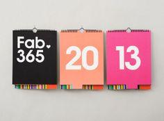 Un calendrier inspiré par Massimo Vignelli