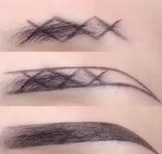 Eyebrow Makeup Tips, Makeup Videos, Skin Makeup, Makeup Hacks, Makeup Brushes, Makeup Eyebrows, Beauty Makeup Tips, Perfect Eyes, Perfect Makeup