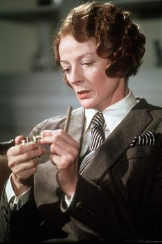 Maggie Smith in Death on the Nile, 1978