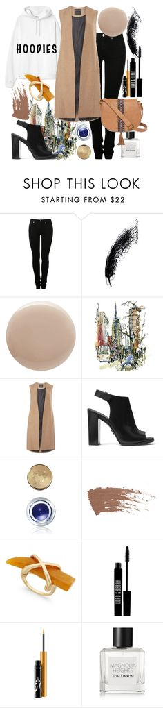 """hoodies a new way"" by gulli-jules ❤ liked on Polyvore featuring MM6 Maison Margiela, Oribe, mel, Michael Kors, Bobbi Brown Cosmetics, Lord & Berry, MAC Cosmetics, Tom Daxon and T-shirt & Jeans"
