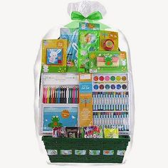 Walmart deluxe art supplies easter basket gift christmas easter baskets slot art supplies fun games negle Image collections