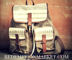 a backpack that changes lives from Redemption Market
