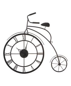 Look at this Bicycle Wall Clock on #zulily today!